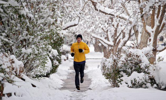 Exercice par temps froid et sécurité – Panneaux d'avertissement