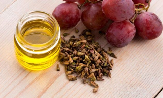 Información nutricional y beneficios para la salud del aceite de semilla de uva